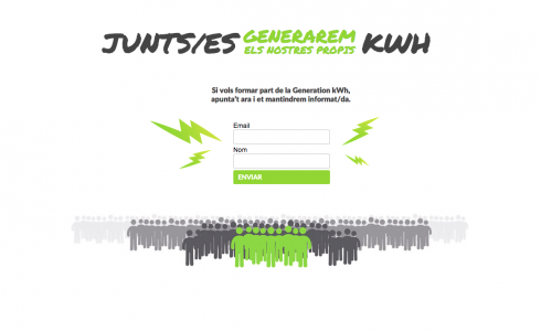 Junts/es Generarem els nostres propis KWH